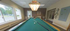 Barrows Activity Center - Billiards Room
