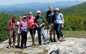 HHH residents hiking