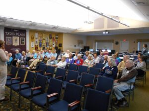 Audience at the cultural arts center.