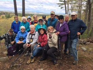 residents hiking in concord nh
